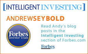 Read Andy's blog posts in the Intelligent Investing section of Forbes.com